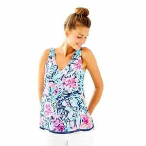 Lilly Pulitzer Reversible Florin Tank Top